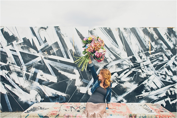 Photo by Jessica Withey Photography // Flowers by Early Hours London