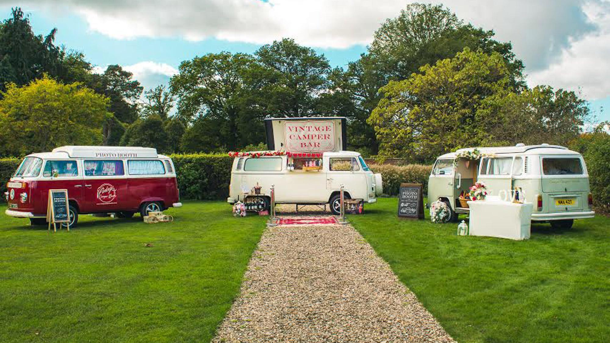 Vintage Camper Booths Photo Booth In Devon Amp Berkshire