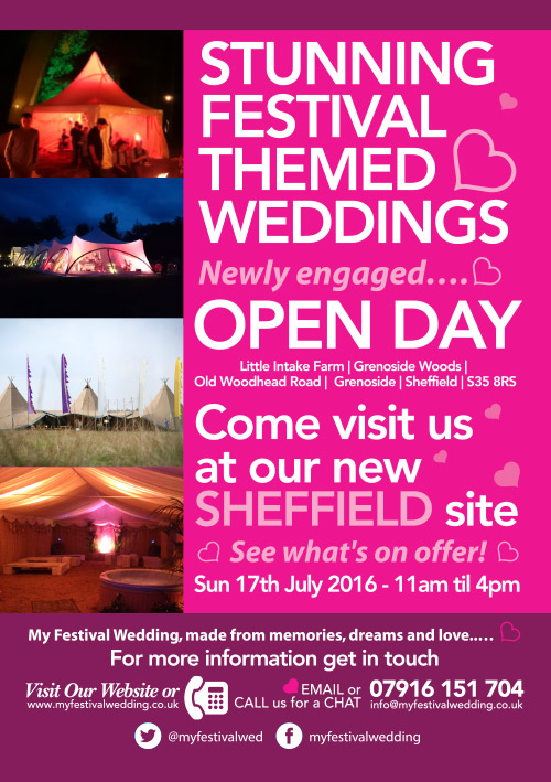 My Festival Wedding Open Day