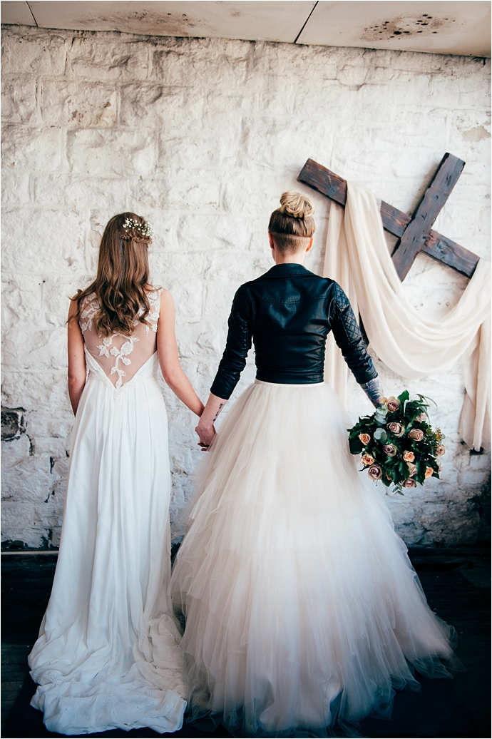 Edgy, Industrial, Boho, Bridal Shoot by Gemma McAuley photography