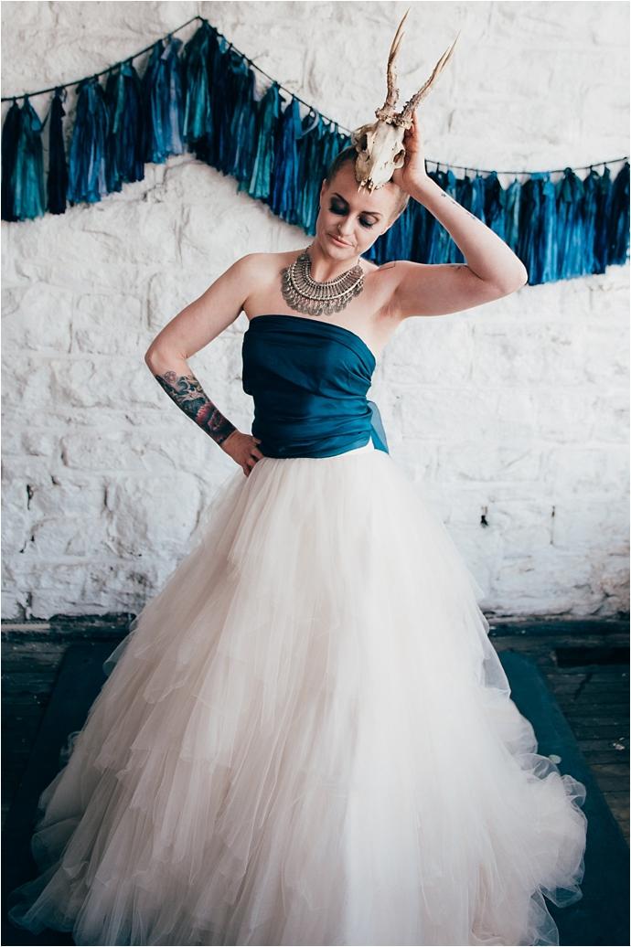 Edgy, Industrial, Boho, Bridal Shoot by Gemma McAuley photography