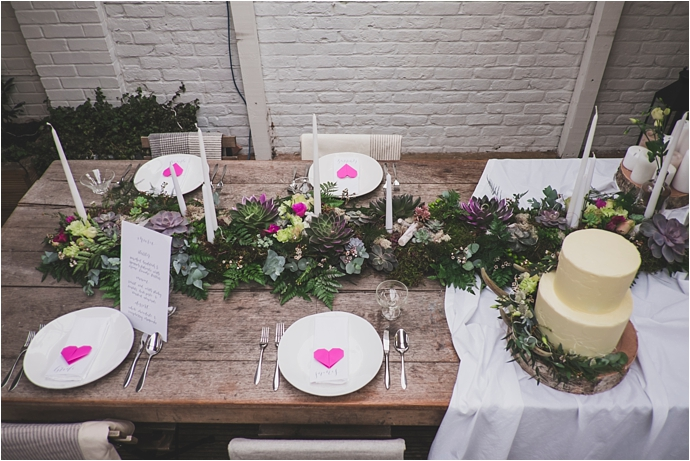 The Wedding Spark - Creative wedding styling & crafts // as featured on Mr & Mrs Unique