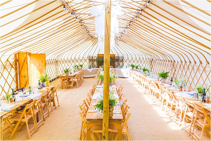 Homemade, Village Fete Themed, Yurt Wedding // Photos by ELS Photography // Featured on www.mrandmrsunique.co.uk