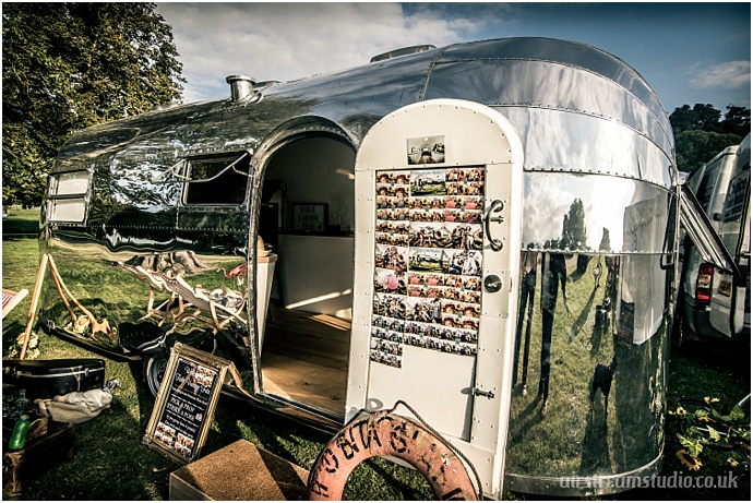 Airstream Studio- Vintage Airstream Photo Booth South East. As featured on Mr & Mrs Unique www.mrandmrsunique.co.uk