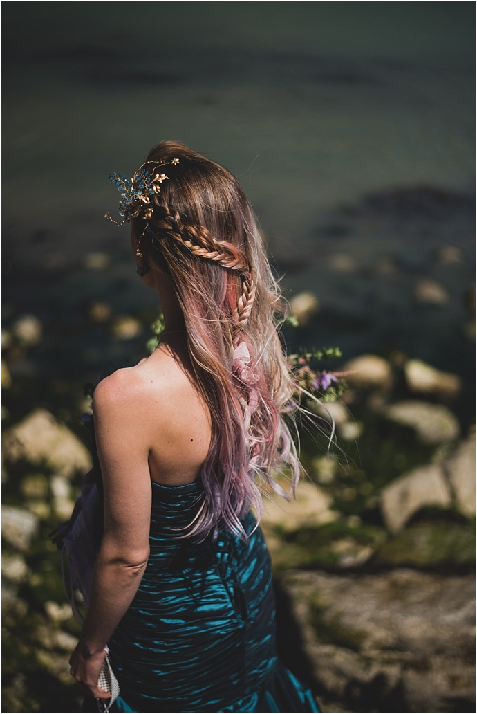 Grunge, Mermaid Beach Wedding Inspiration, Styled by Something Borrowed, Photos by Bridle Photography, as featured on Mr & Mrs Unique www.mrandmrsunique.co.uk