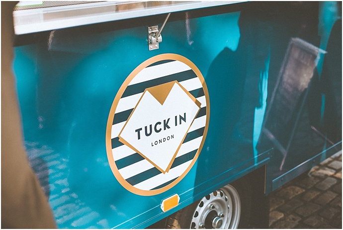 Tuck In London Ltd- Mobile Wedding Caterers & Lebonese Food. As featured on Mr & Mrs Unique