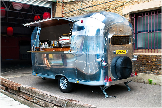 Vintage Trailers- American Airstream- Mobile food, DJ, Bar Hire for weddings and events. As featured on Mr & Mrs Unique www.mrandmrsunique.co.uk