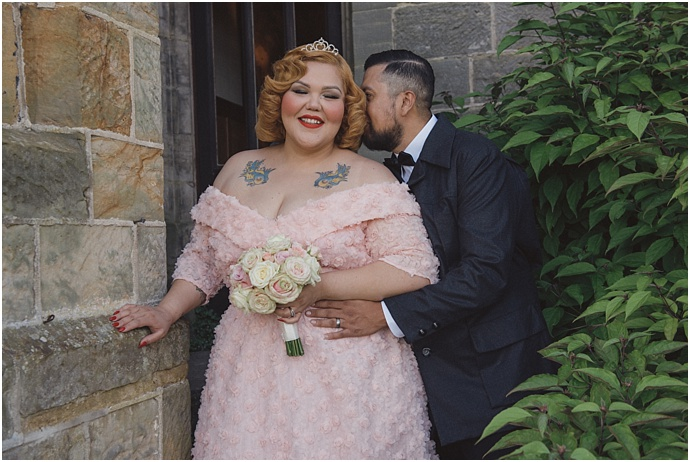 American couple hold a British Wedding with a Downton Abbey theme. an elopement captured by Rebecca Douglas Photography for Mr & Mrs Unique