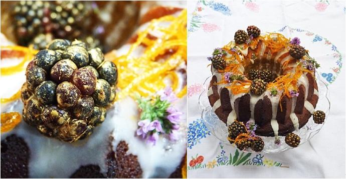 Spiced 'Bundtkin' cake recipe by Nevie-Pie