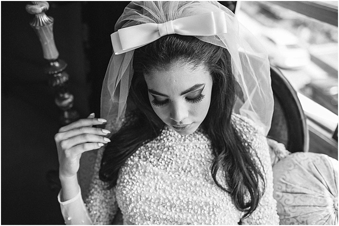 Elvis + Priscilla Wedding Shoot for Rock n Roll Bride Magazine by Devlin Photos- styled by Mr & Mrs Unique + The Bijou Bride