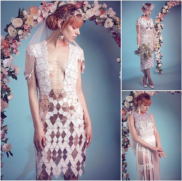 Jane Bowler - Unique and innovative bridal designs for the modern bride as seen on Mr & Mrs Unique www.mrandmrsunique.co.uk