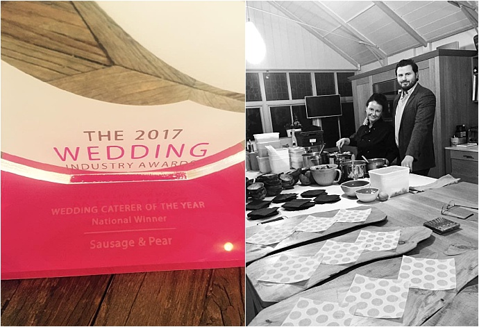 Sausage and Pear - Dorset wedding and event caterers. Rustic, Heart food with a fine dining twist. Voted Best National Caterers 2017
