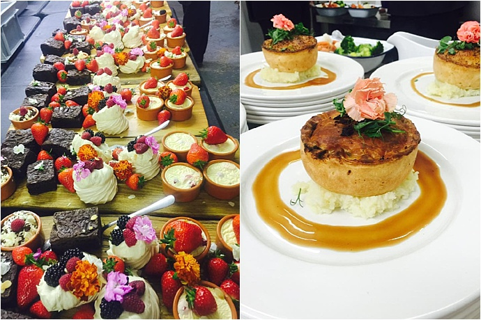 Sausage and Pear - Dorset wedding and event caterers. Rustic, Heart food with a fine dining twist. Voted Best National Caterers 2017.
