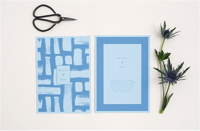 Dot & Harry Wedding Stationery- bespoke, hand illustration, modern, stylish stationery and paper goods as seen on Mr & Mrs Unique