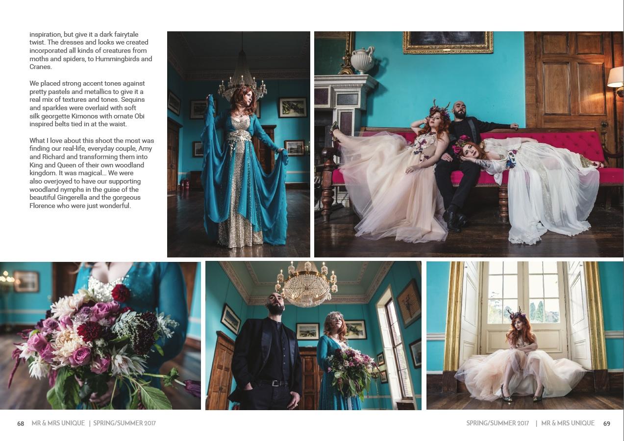 Mr & Mrs Unique Spring Summer Wedding Magazine 2017