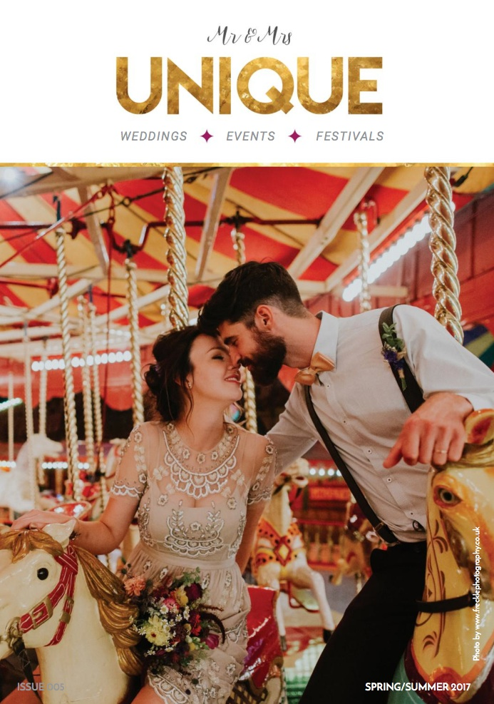 Spring Summer Mr + Mrs Unique Wedding Magazine 2017