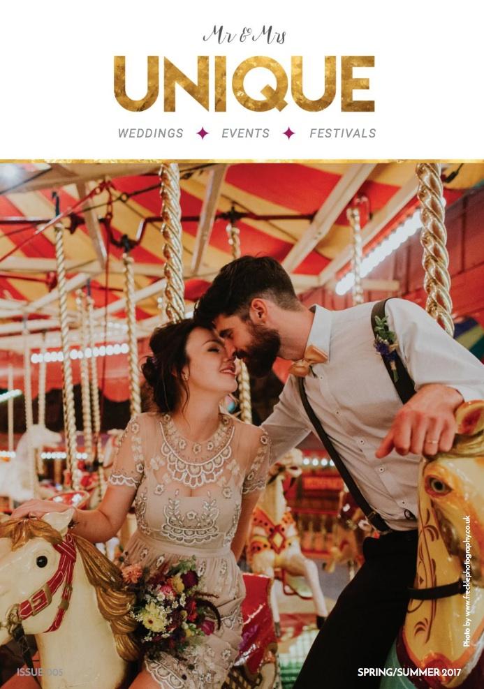 Spring Summer Mr + Mrs Unique Wedding Magazine 2017