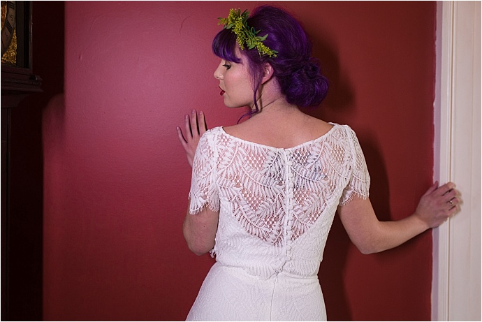New, bespoke bridal collection from Lucy Can't Dance. For quirky, alternative, bohemian brides.
