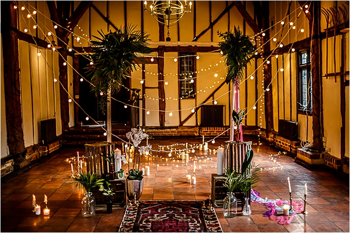 Cuban Wedding Inspiration, vibrant jewel tones and pantone greens- Bedford Wedding Suppliers, tattooed Groom, edgy bridal style, as seen on Mr & Mrs Unique