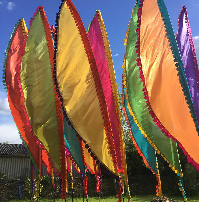 Event Flag Hire Wedding Competition- WIN 6 flag hire for your festival wedding
