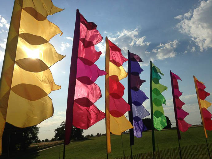 The Event Flag Company- Wedding Festival Flags UK
