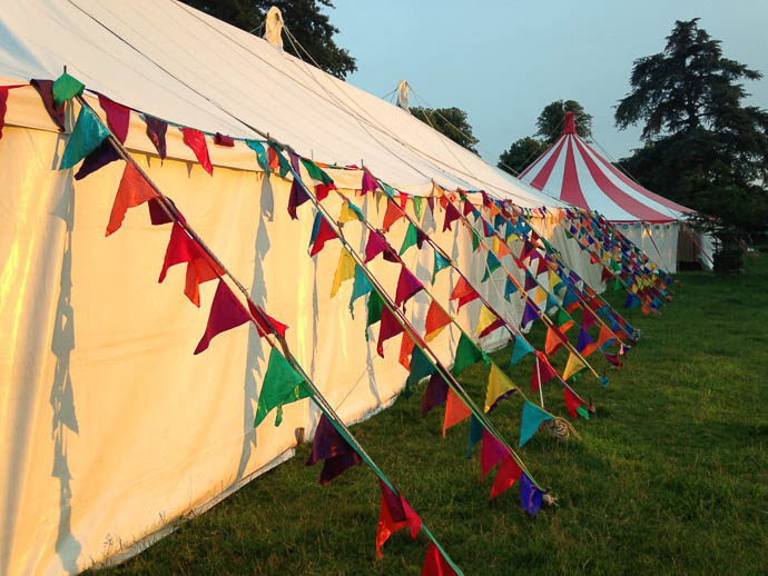 The Event Flag Company- Wedding Festival Flags UK