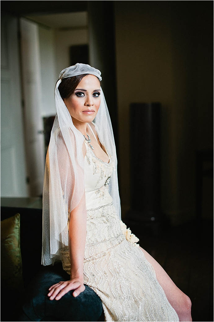 Cool, Rock n Roll Modern Bridal Shoot at Aynhoe Park_0063.jpg