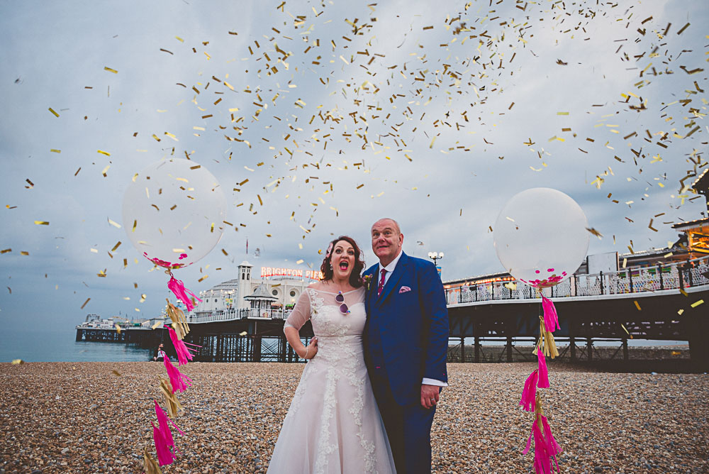 bespoke wedding dress, brighton pavillion, brighton wedding, colourful, colourful wedding, d.i.y wedding, diy wedding, fun, glitter, laidback, mod wedding, non tradtional wedding, party, personalised, rainbow, ribbons, unique wedding, vintage