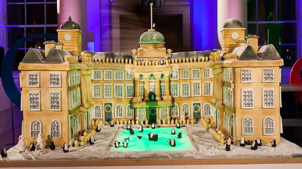 Tattooed bakers, London based Cake & Food Creatives, somerset house, cake sculpture,