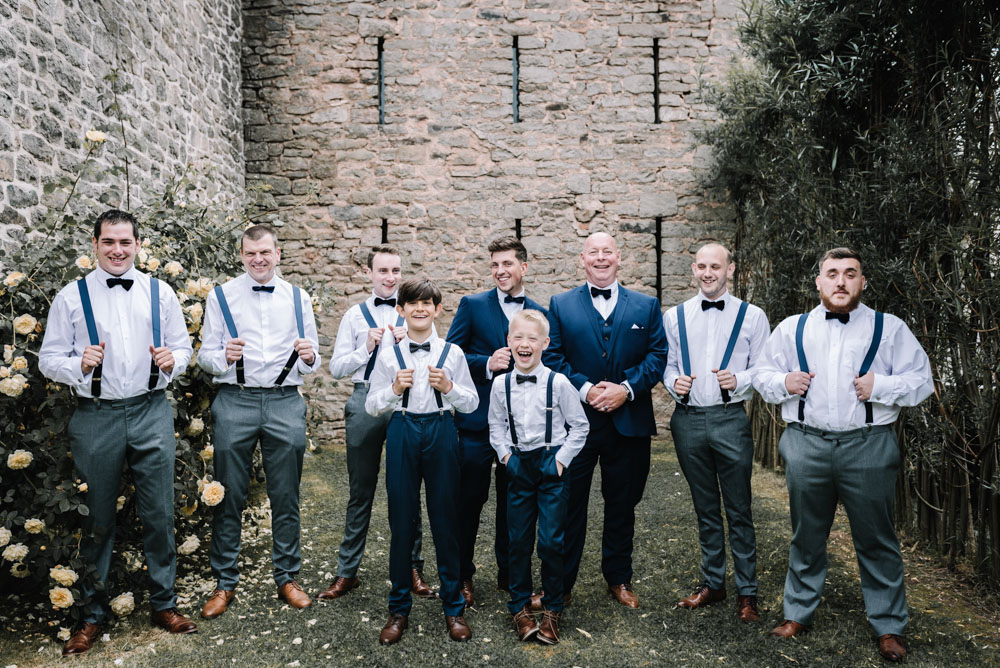 groom, groom party, ushers, bow ties, braces, alternative wedding photography, barn wedding, d.i.y wedding, diy wedding, fun, glitter, handmade, herefordshire wedding, laidback, lyde court, marriage, oobaloos photography, party, personalised, rodeo, rustic wedding, wedding