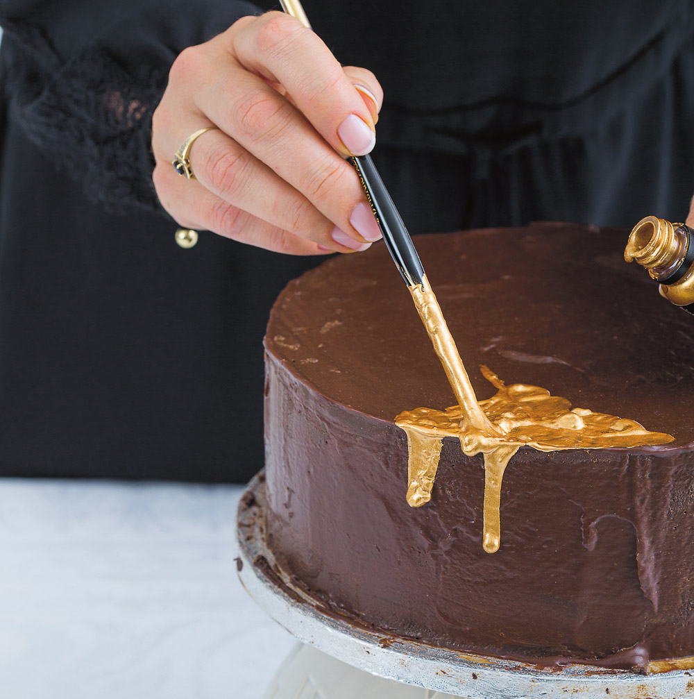 Best Chocolate Wedding Cake Ganache Delicious Recipe