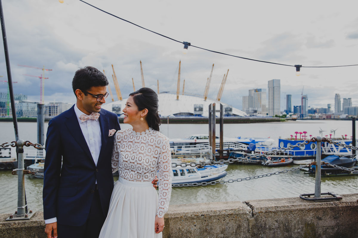 bridal style, bride and groom, bride style, bright, british wedding, chinese wedding, colourful, cultural wedding, culture, diversity, dynamic, foodie, fun, fusion, fusion wedding, heritage, indian wedding, london, london wedding, matthew oliver, mr and mrs unique, personal, Trinity Buoy Wharf, unique, virginias vintage hire