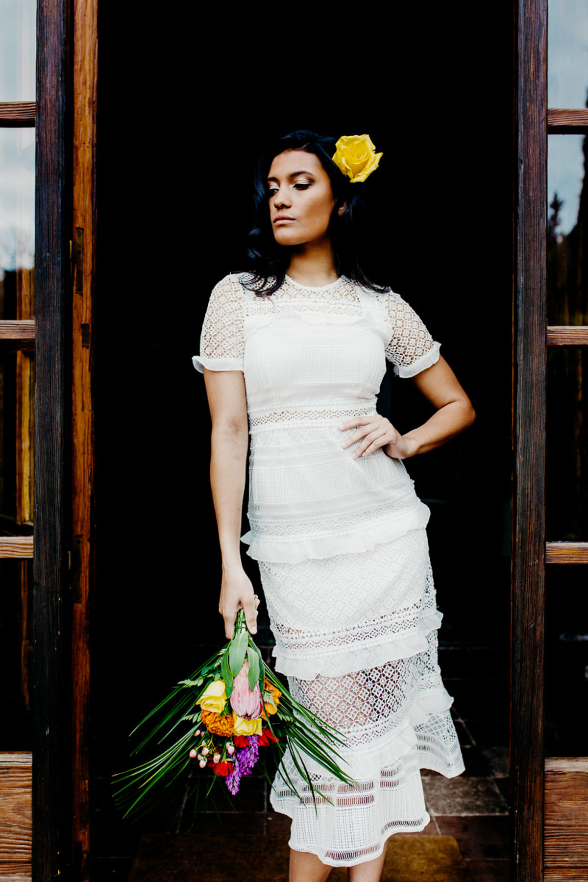 alternative bridal, bold makeup, bridal editorial, bridal inspiration, bridal make up, bridal style, bright wedidg, coloured wedding dresses, colourful bride, colourful makeup ideas, colourful wedding photography, colourpop make up, cuba wedding, cuban bride, edgy bride, floral crown, havana bride, havana wedding, Jo Kemp photography, Mr and Mrs Unique, sassy bride, summer bride, teresa snowball, wedding inspiration