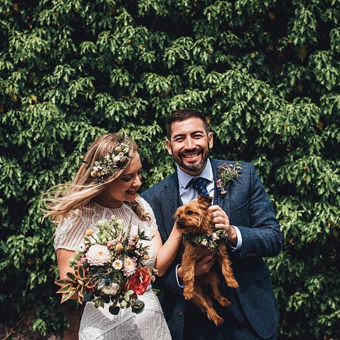 pub wedding, Mr and Mrs Unique, Creative Photography, Lace & Grace, Marni V Photography, Bristol Wedding, Rustic Decor, DIY Wedding, The Battleaxes, Budget Wedding, Dogs at Wedding, South West Weddings, Homemade Bunting, Gin Cocktails, Garden Reception, Bohemian Dress, Welshe Cakes, Wildflowers, Flower Crown, Small Wedding, Deckchair Reception