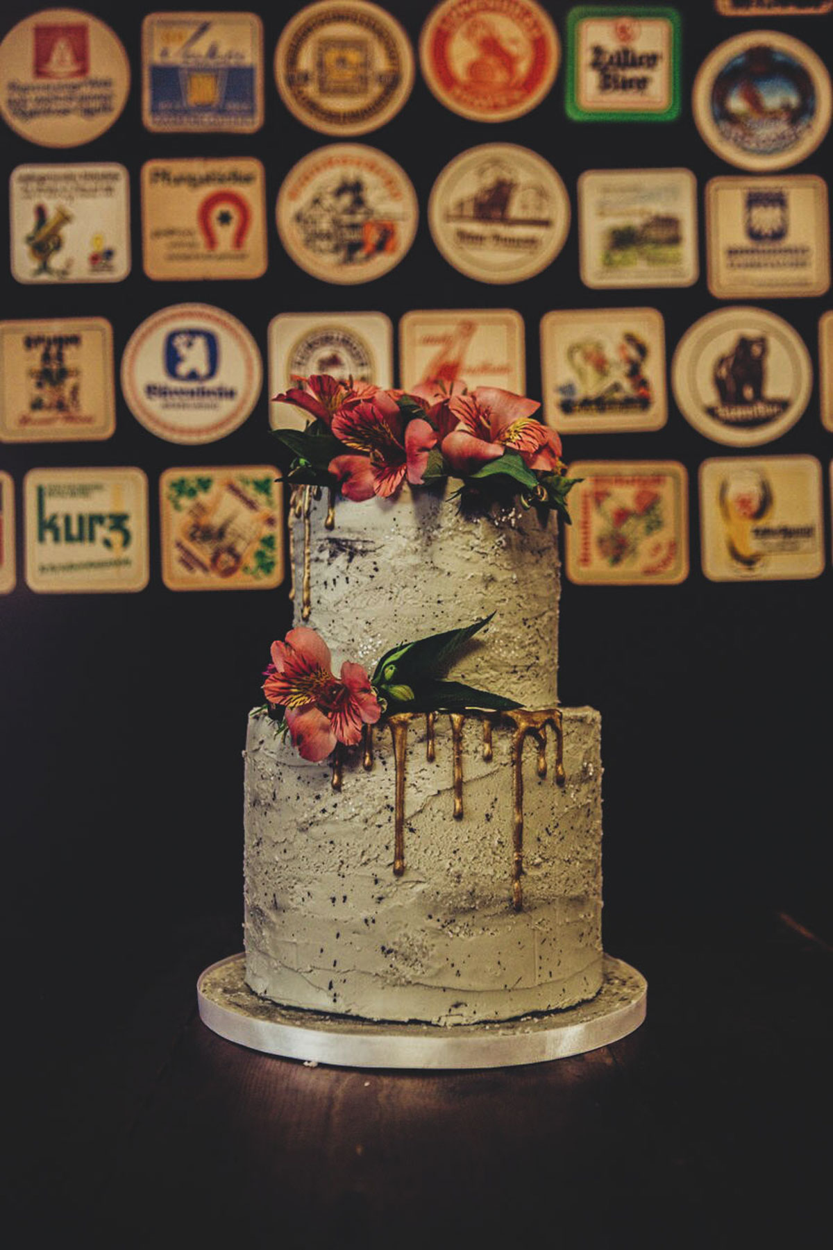 2 tier Buttercream wedding cake