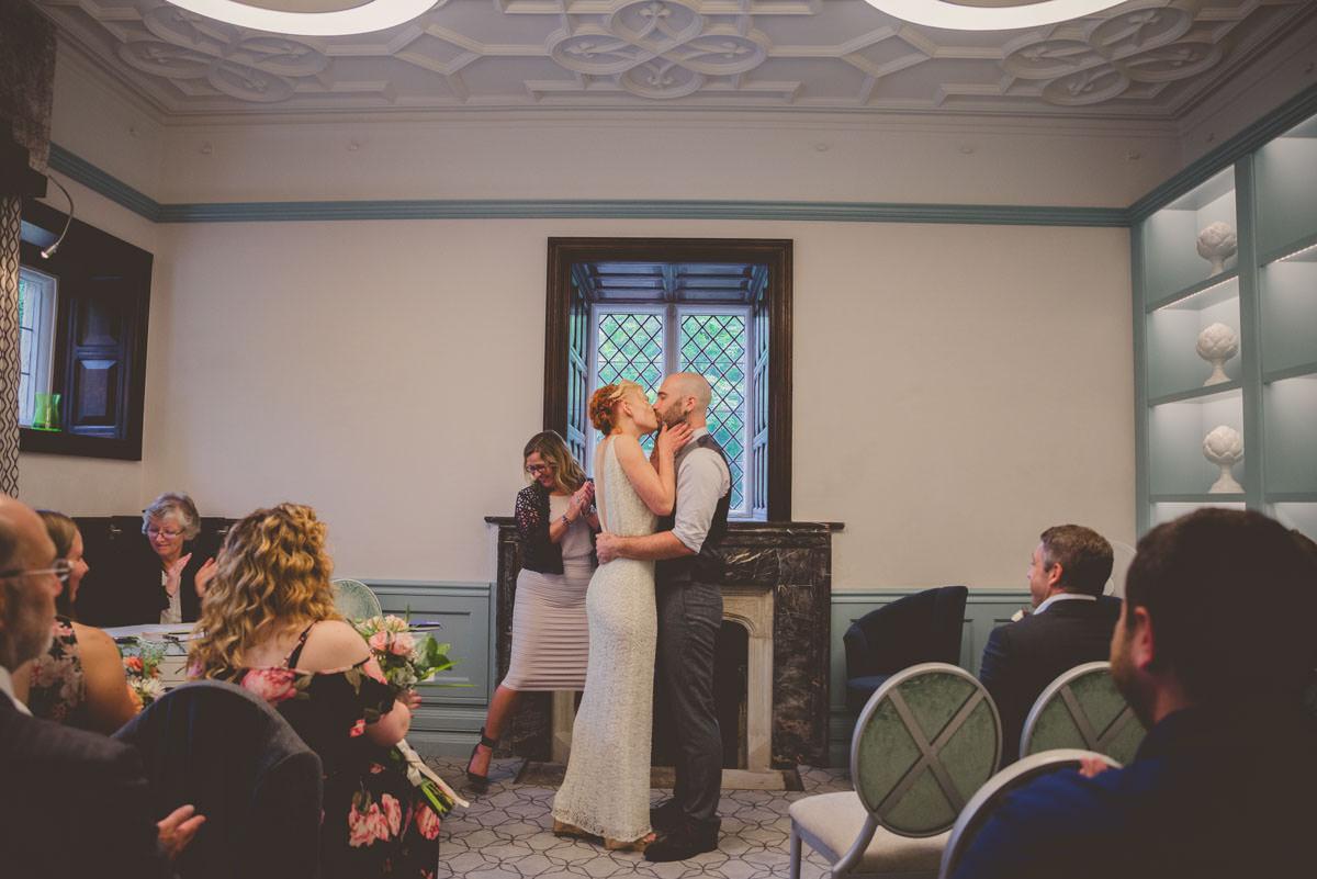 Vibrant Floral Grunge Inspired Wedding at The Secret Barn