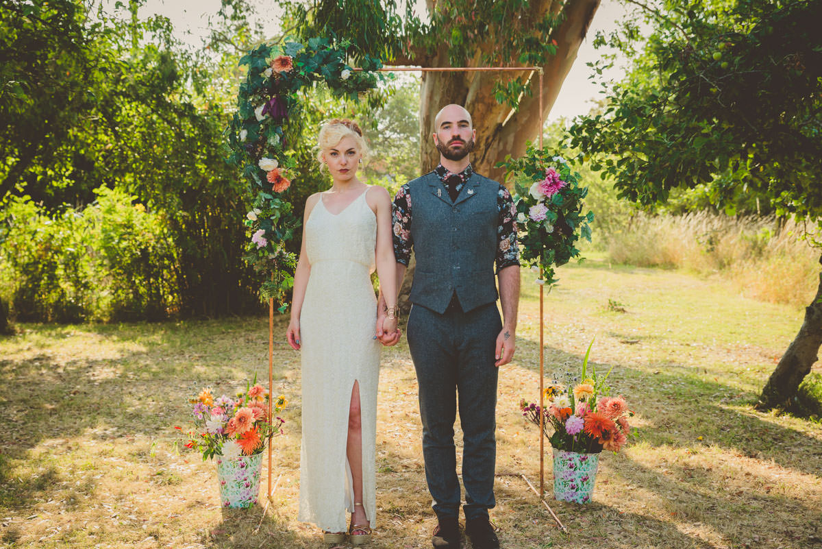 colourful, fiesta inspied Barn Wedding in West Sussex