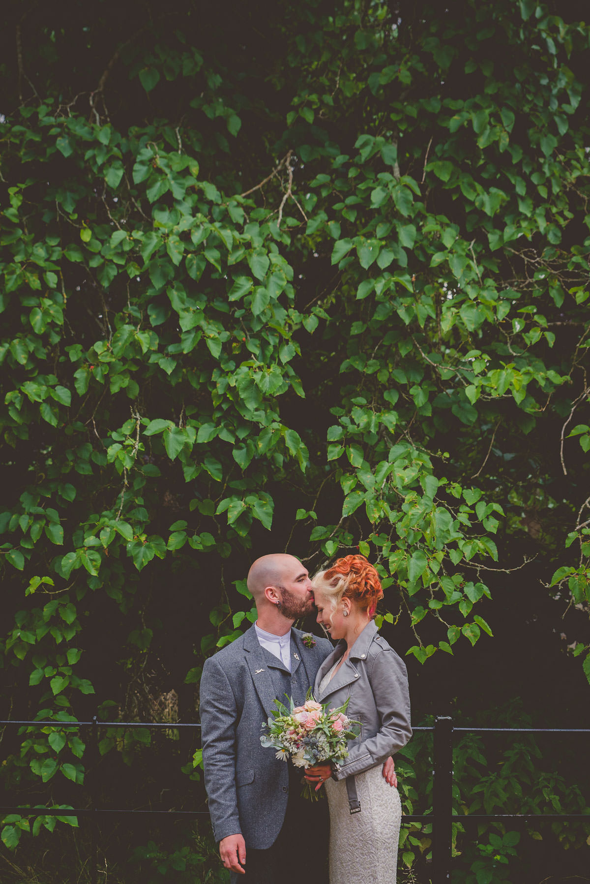 creative wedding portrait photography