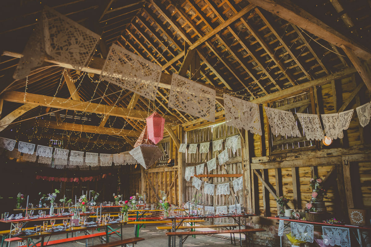 The secret barn in West Sussex