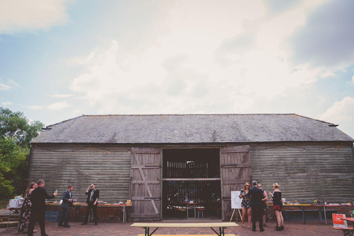 the secret barn West Sussex outside