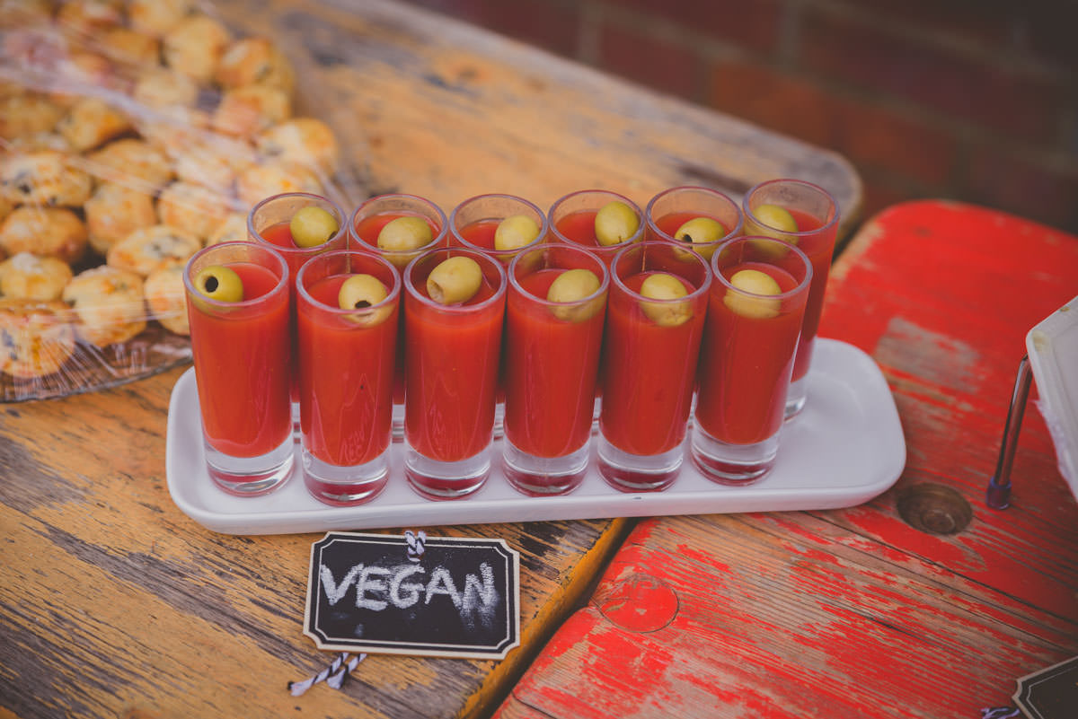 vegan wedding catering