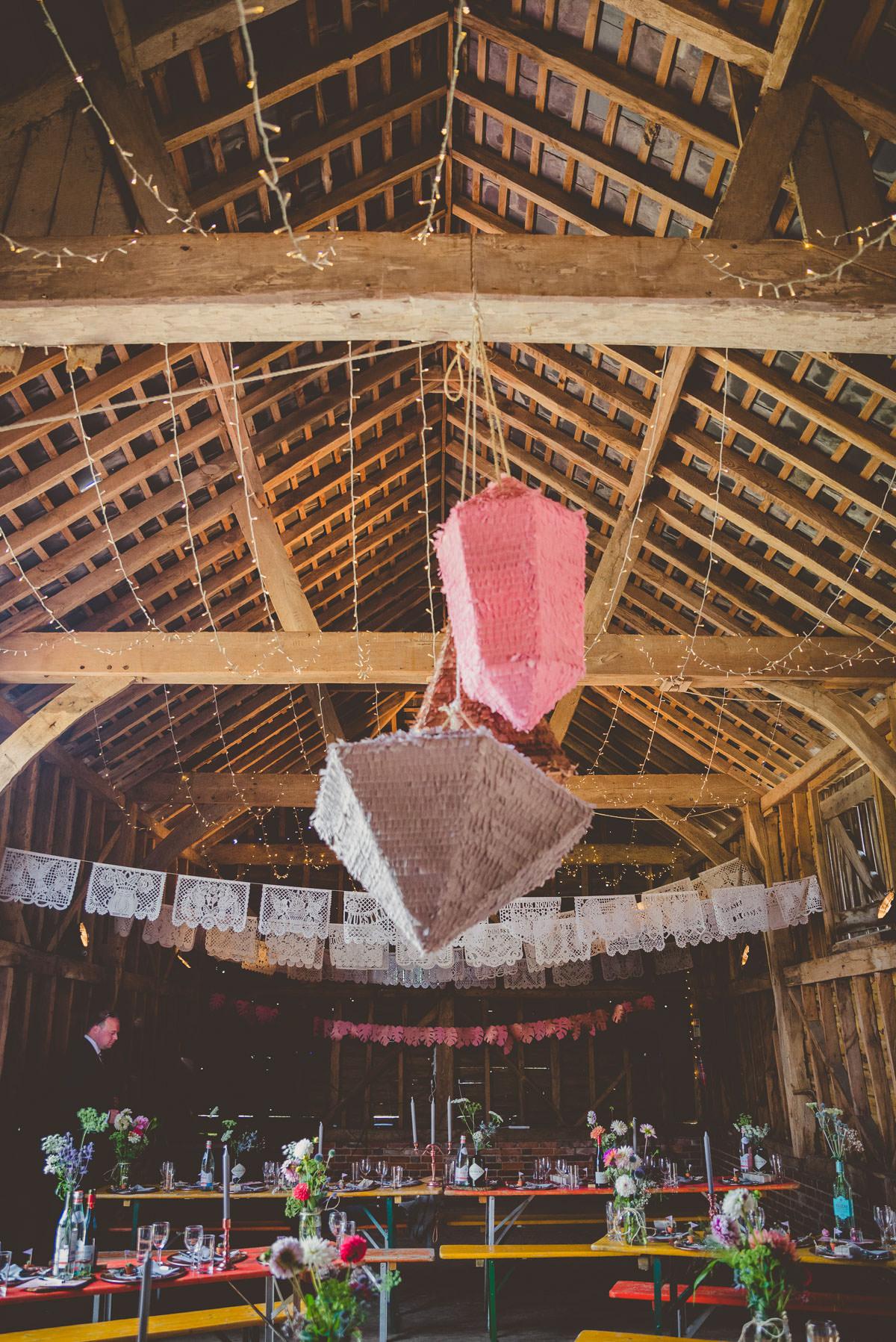 geometric piñatas