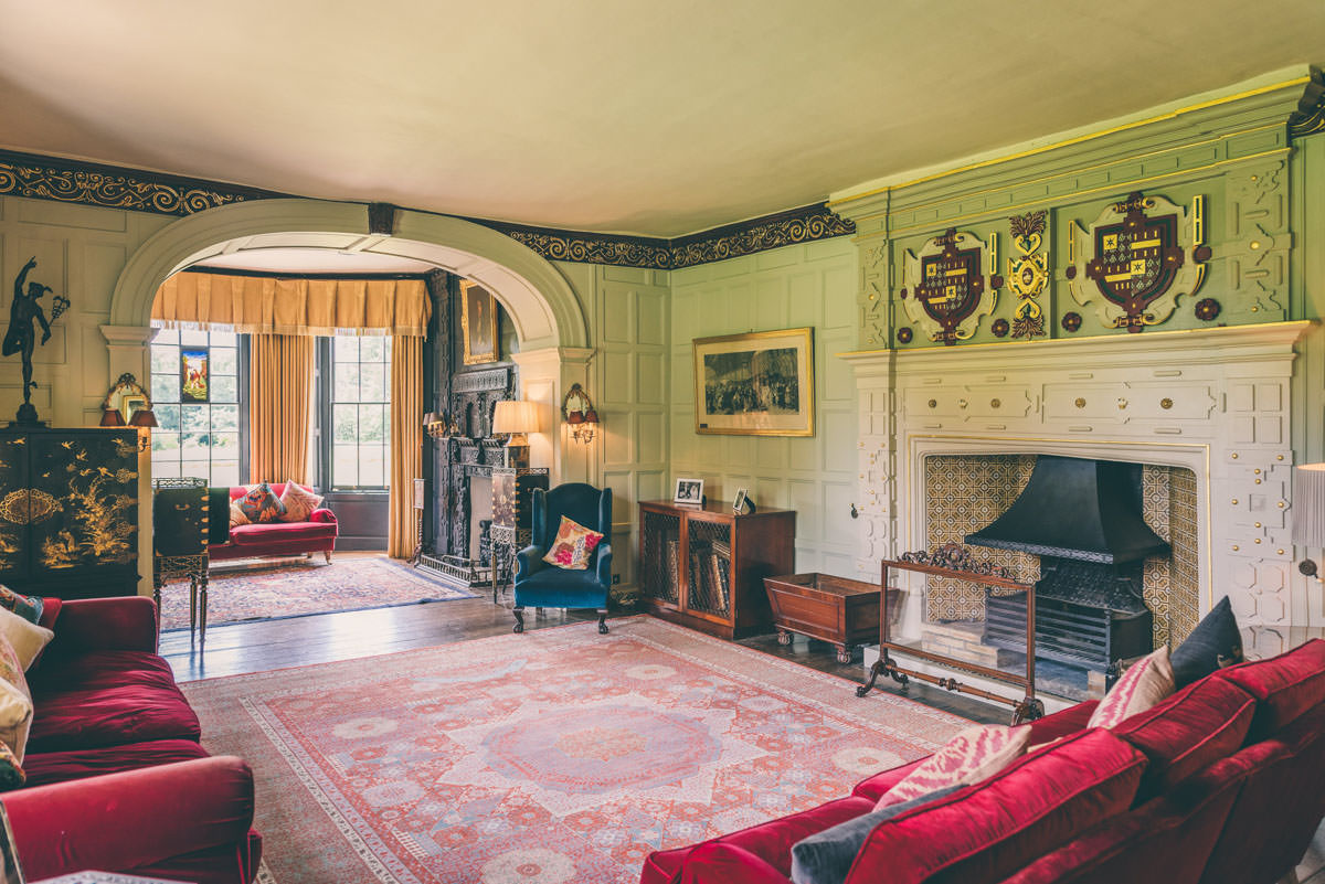 Elmore Court Drawing Room