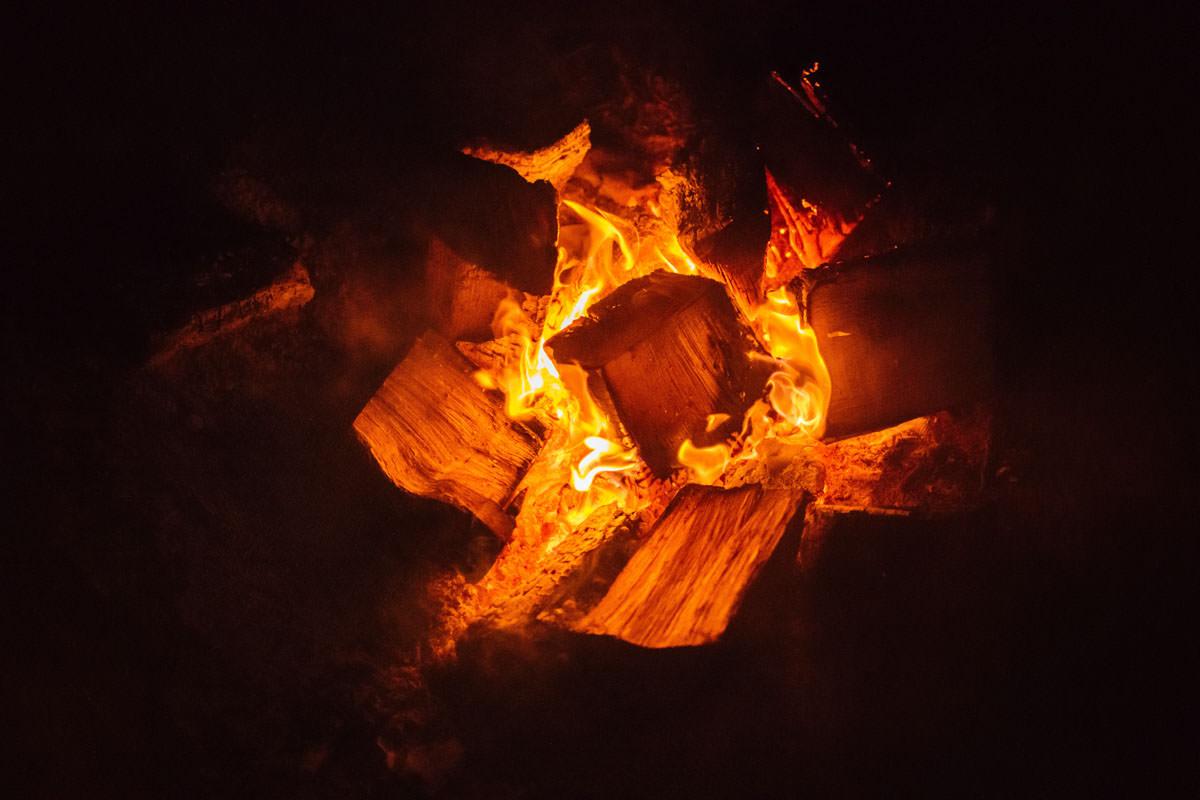 Firepit at Elmore Court