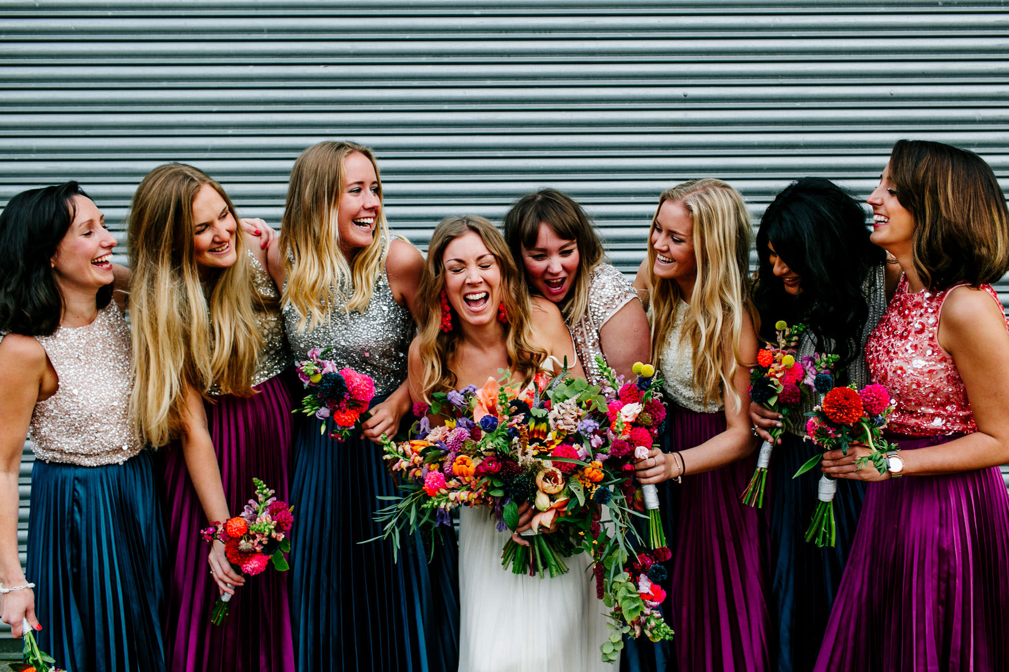 Wedding planning is stressful, and your friends are there to help.