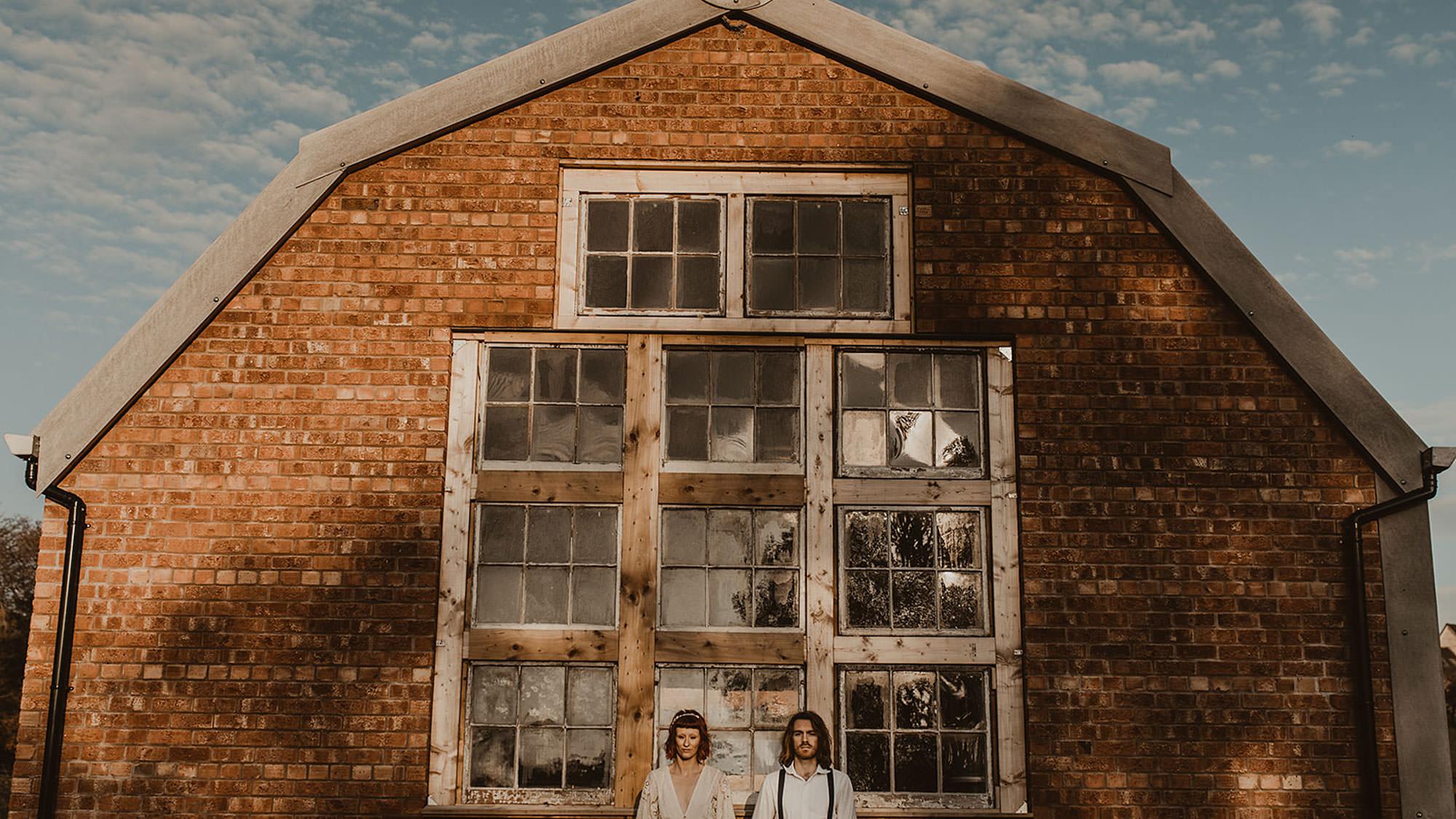 The Giraffe Shed Alternative Wedding Barn In Central Wales