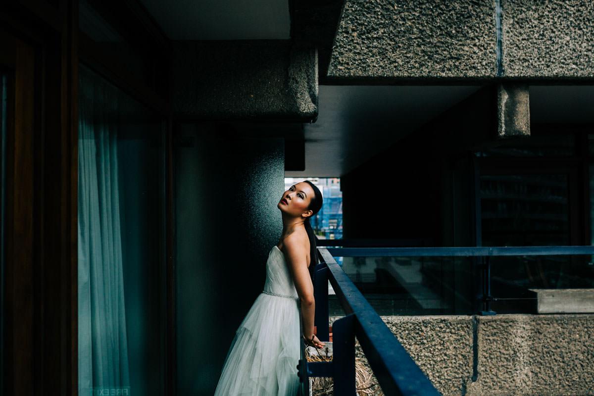 barbican estate, barbican conservatory, urban jungle, audreyashley couture, BAME model, barbican photo shoot, barbican wedding, Boom blooms, colourful wedding flowers, floral crown, frey de pauli make up, london wedding, millinery