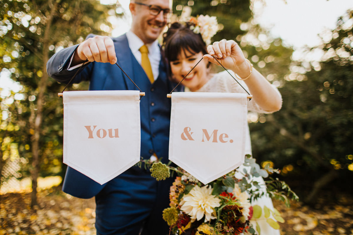 Bohemian Wedding Inspiration: You & Me Wedding Banners