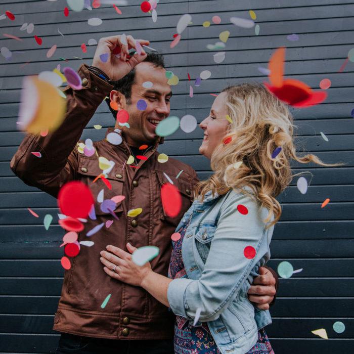 birmingham wedding, intimate wedding, lockdown love, lockdown weddings, Love is not cancelled, prewedding photoshoot, stephanie butt photography, street graffiti, weddings in pandemic