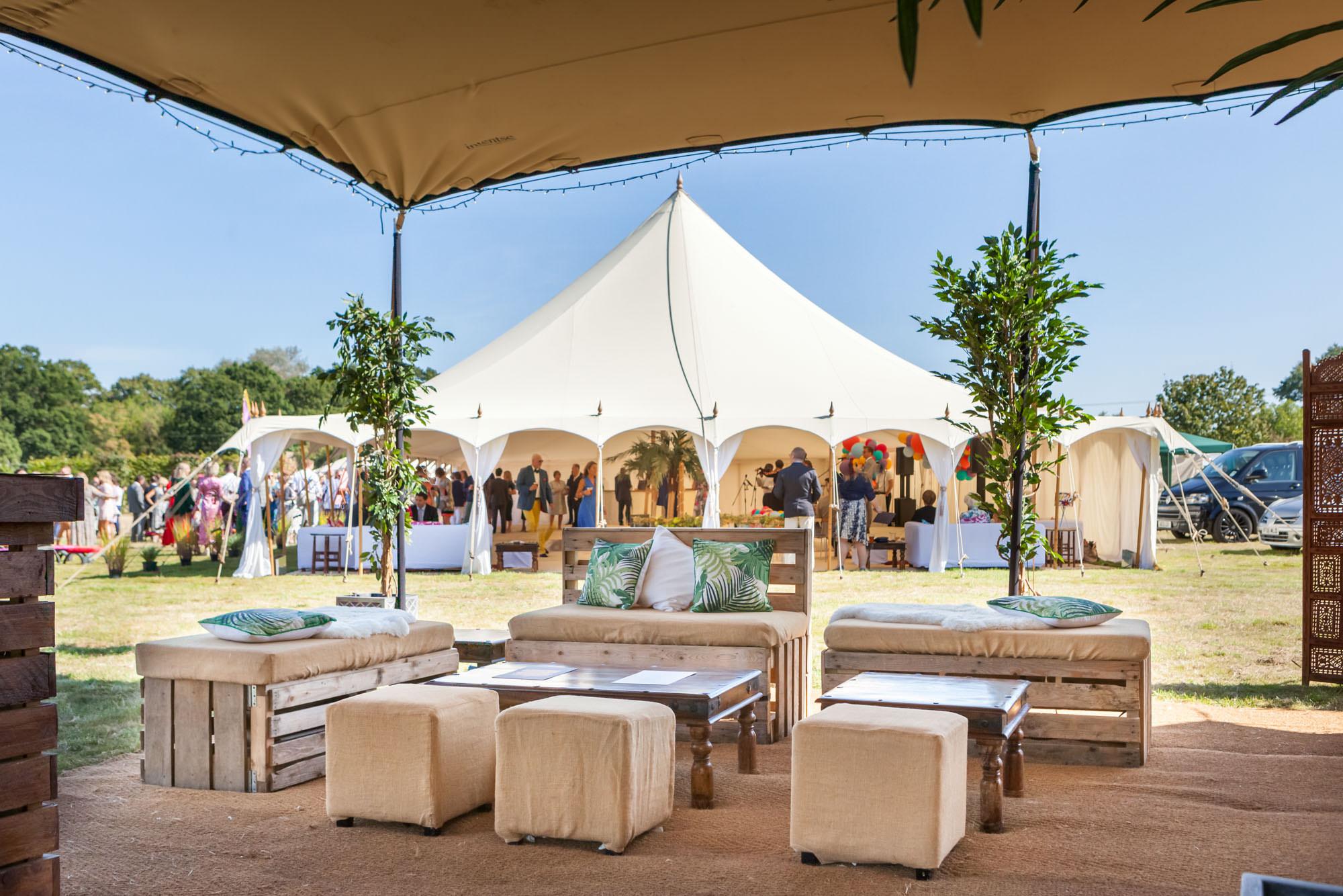 Arabian Tent Company - Unique, colourful wedding marquee + tent